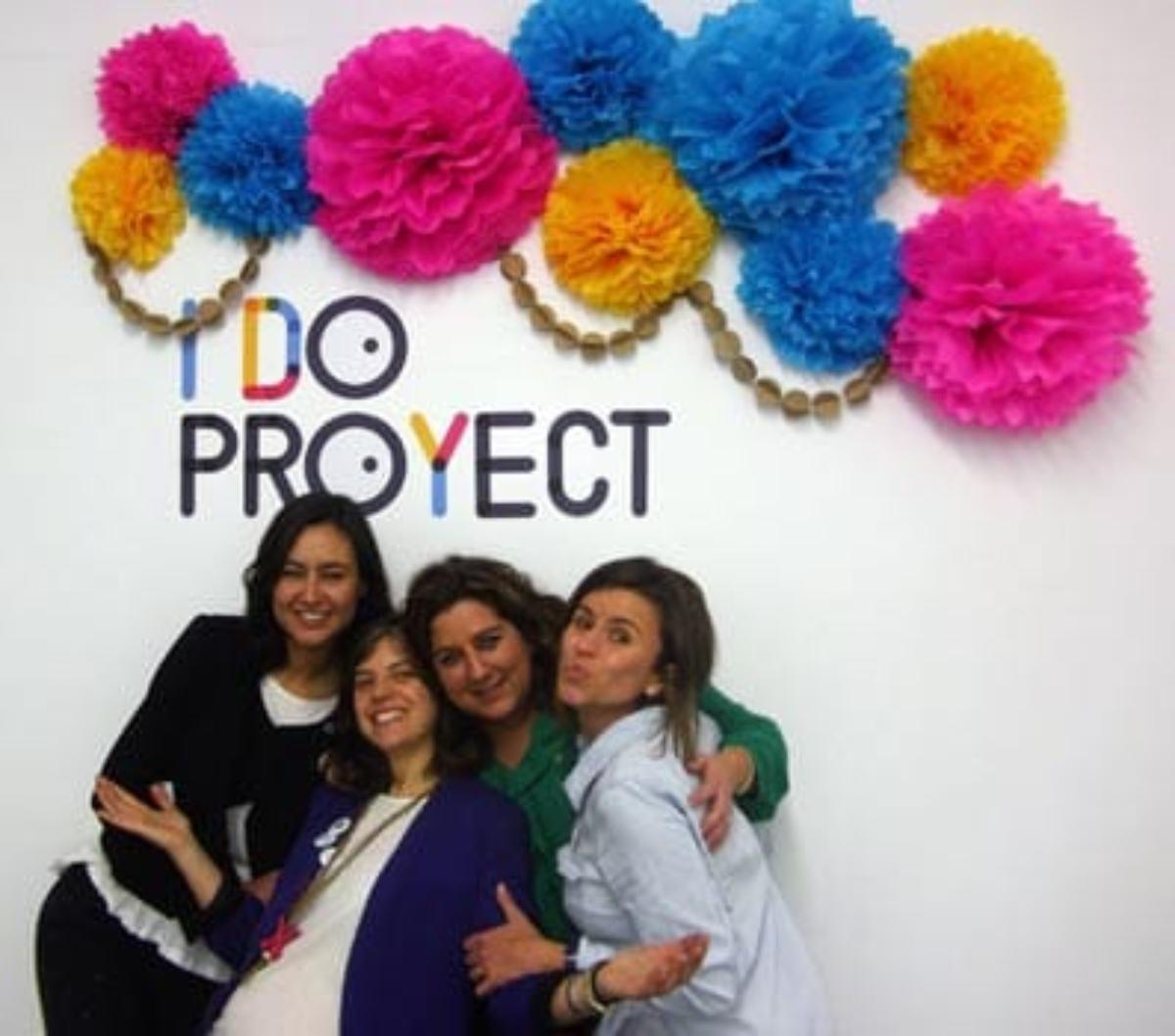 Las emprendedoras de I Do Proyect.