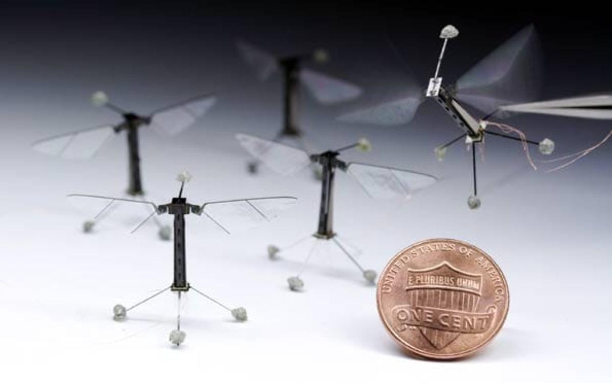 La mosca robot ya es una realidad.