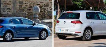 El Volkswagen Golf y el Renault Megane son los coches preferidos para comprar de segunda mano