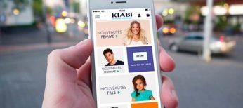 Kiabi lanza una app que combina la compra presencial y online