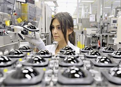 Fábrica de Bosch de sensores de radar.