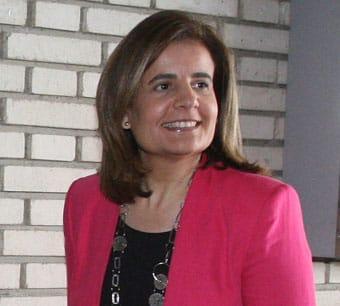 Fátima Báñez, ministra de empleo, en mayo de 2013.