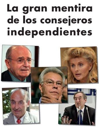La gran mentira de los consejeros independientes.