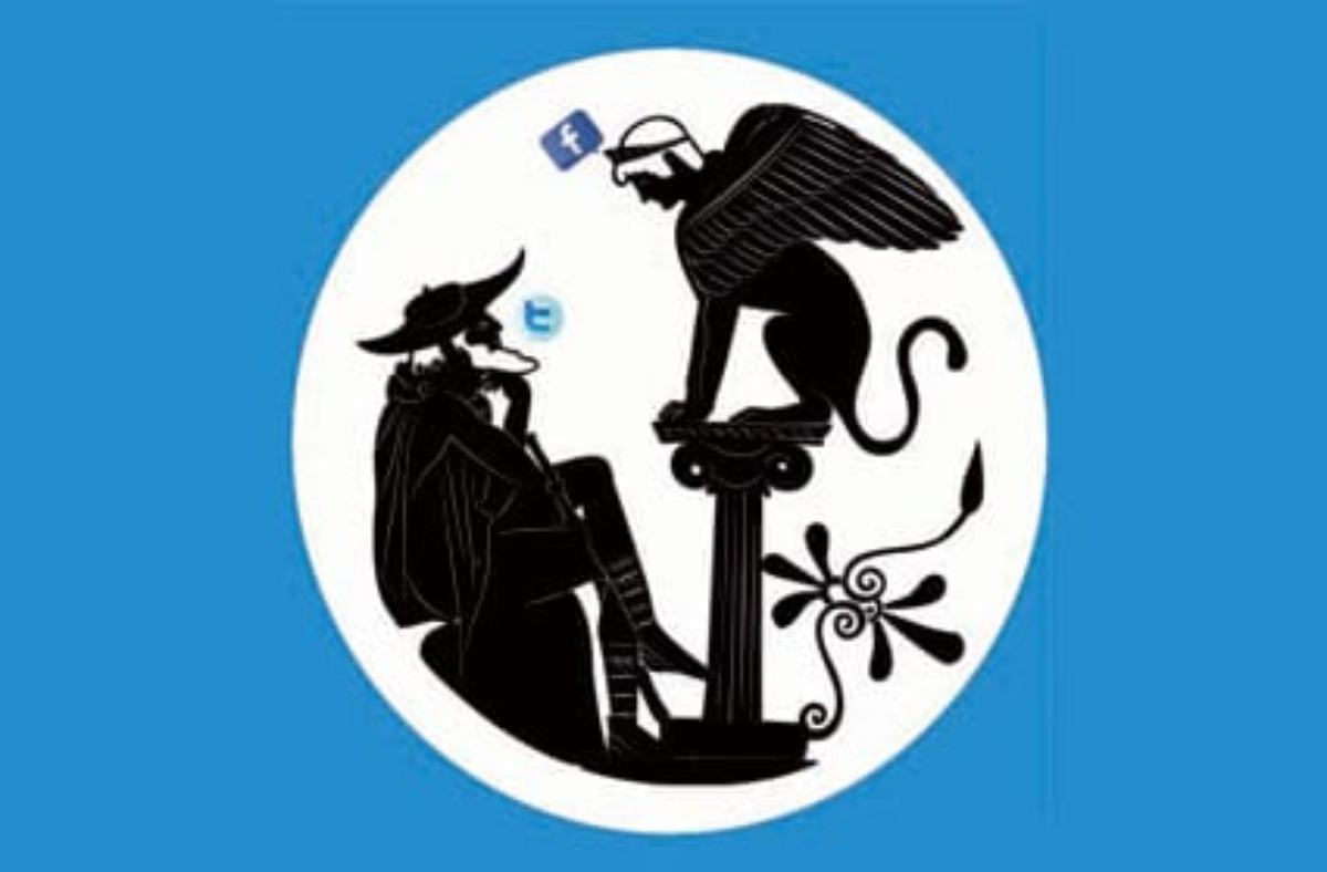 Las redes sociales son la nueva ágora que se empleaba en la Antigua Grecia.