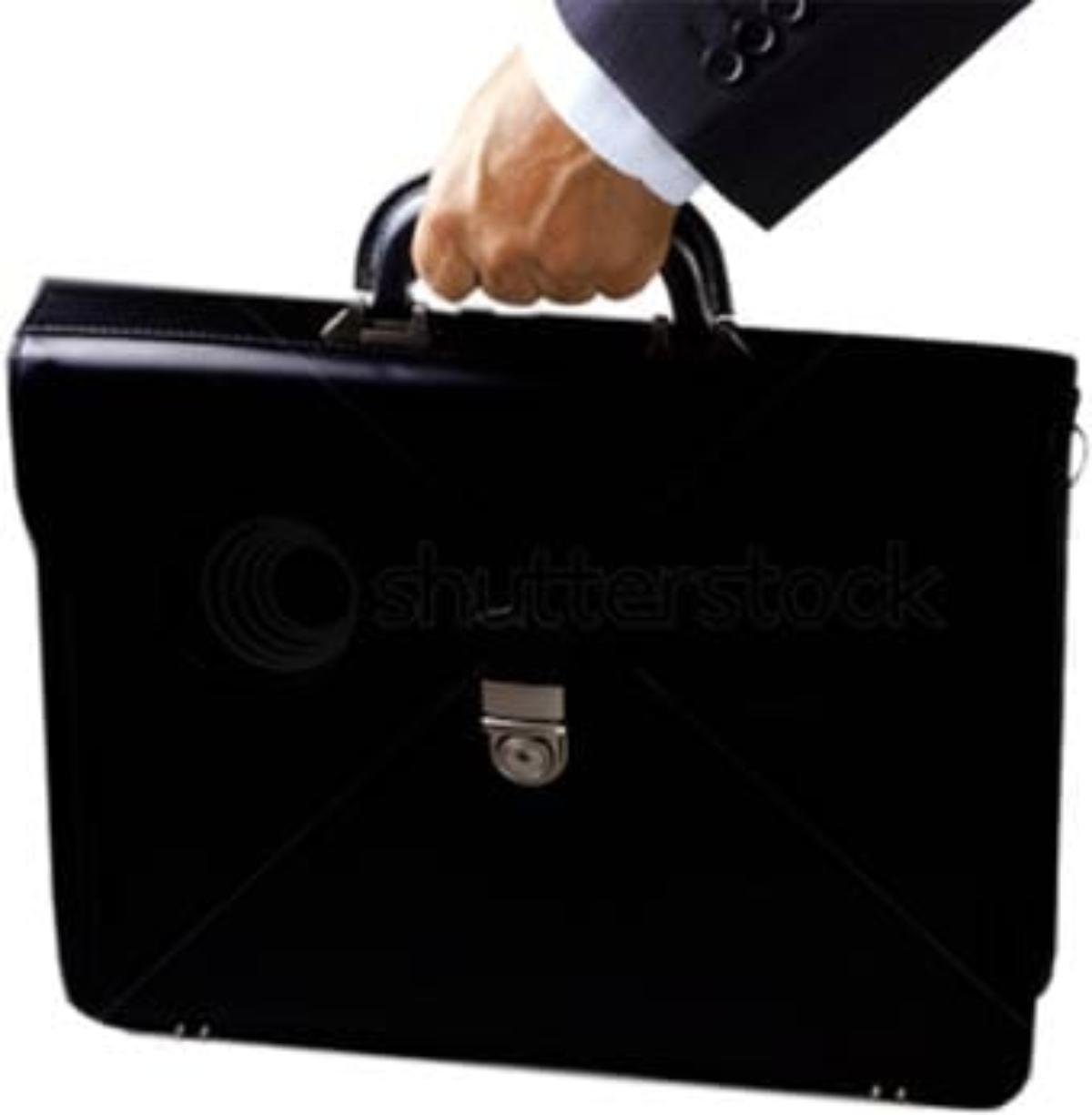 Un maletín de procurador.