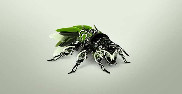 El robot mosca echa a volar