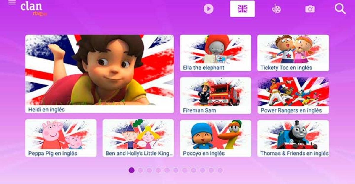 Cómo aprender inglés en TVE con el canal Clan gracias al sistema dual