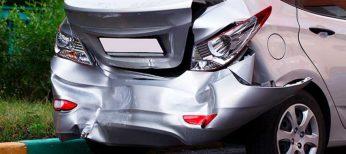 Choque por detrás, el accidente en coche más común