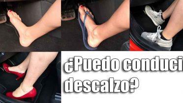 Conducir con chanclas o descalzo es legal pero muy peligroso