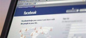Acceso a la red social Facebook desde su pantalla de login.
