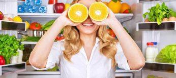Corregir la vista con comida