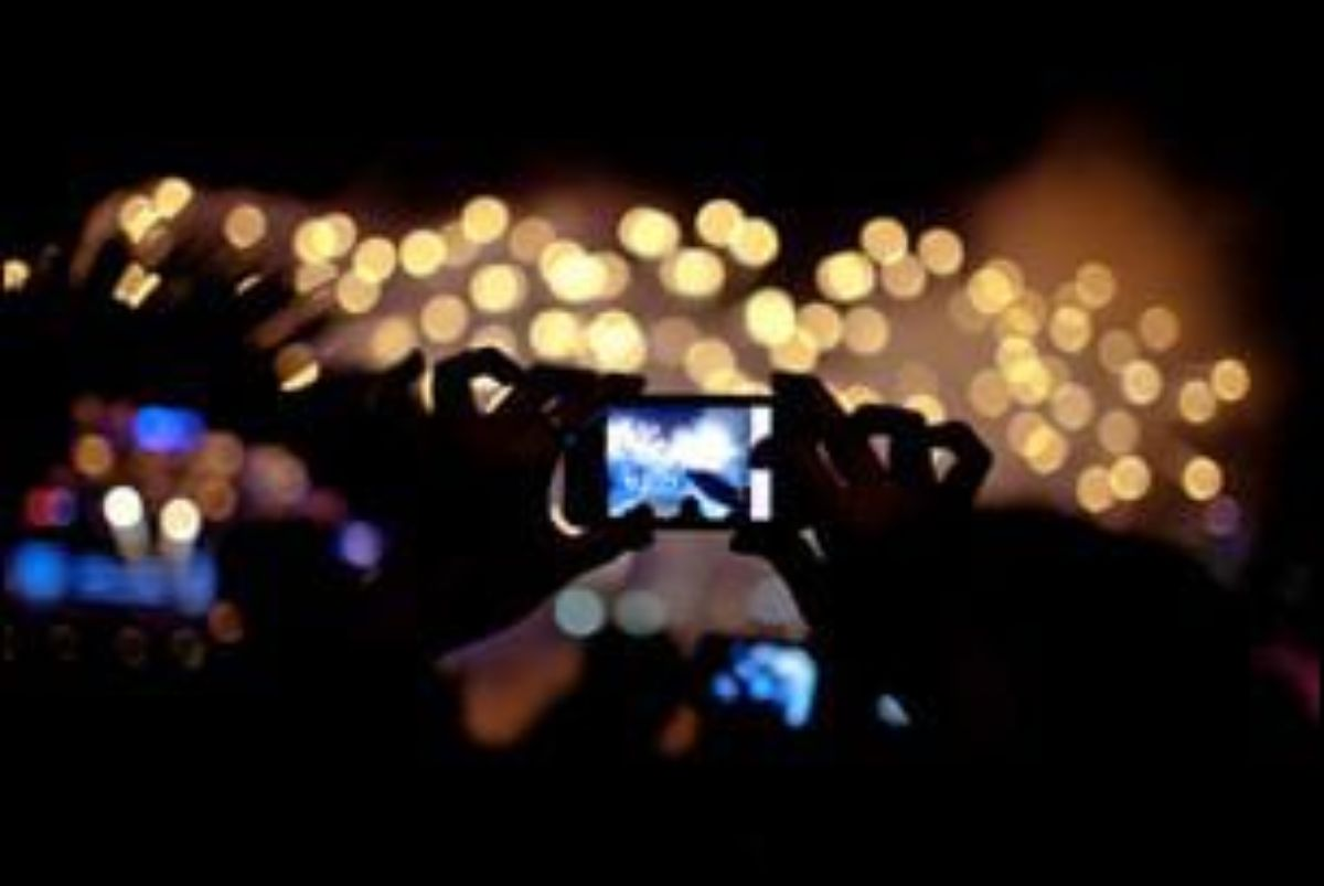 En los conciertos ya es más habitual ver smartphones que mecheros o cámaras de fotos.