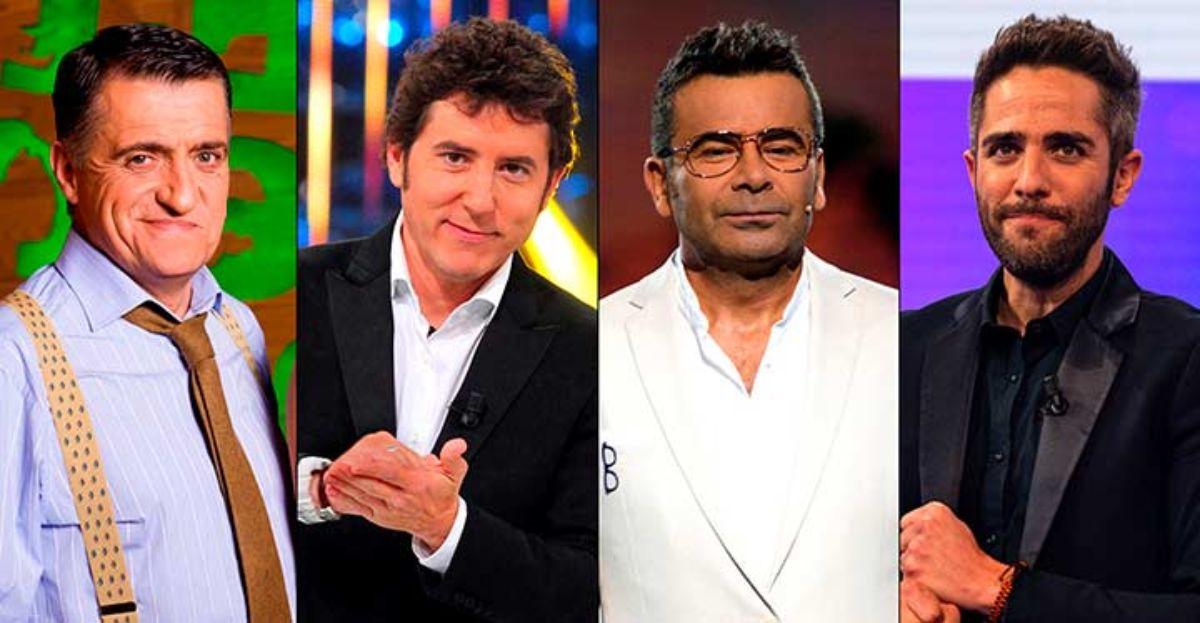 Ranking de los presentadores de TV y actores más admirados