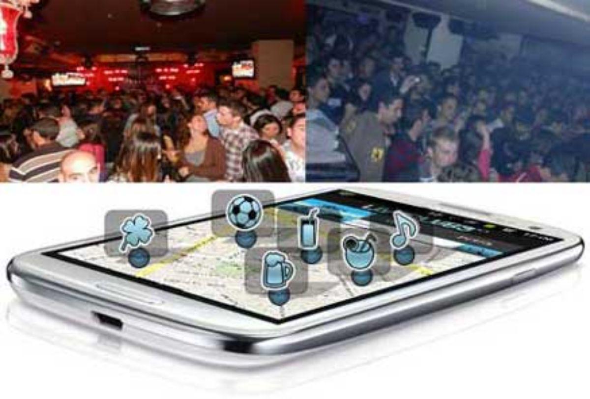 App LiveClubs para saber qué ambiente hay en el interior de una bar o discoteca.