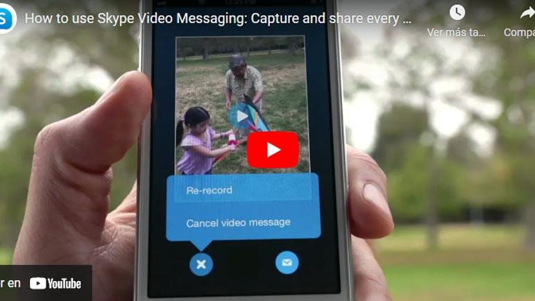 Video explicativo Skype