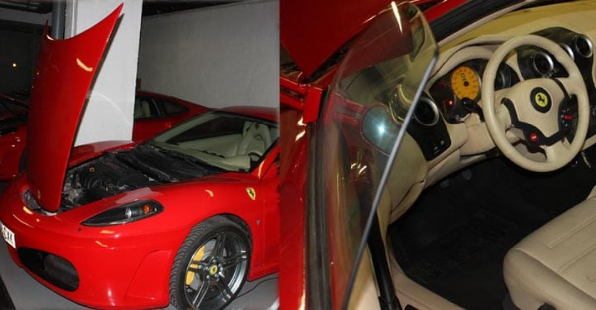 Los Ferrari falsos recreaban con todo lujo de detalles los modelos originales.