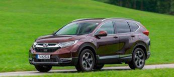 EuroNCAP otorga 5 estrellas al nuevo Honda CR-V