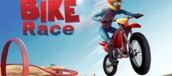 Bike Race, una de las mejores apps para niños.