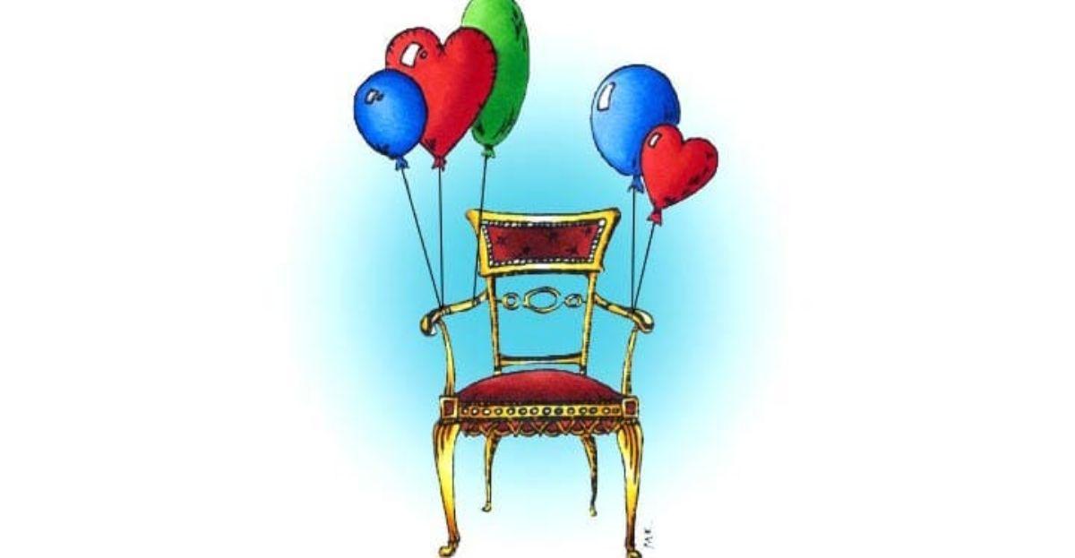 Ató globos a una silla y salió volando, provocando cancelaciones de vuelos en el espacio aéreo que ocupaba.