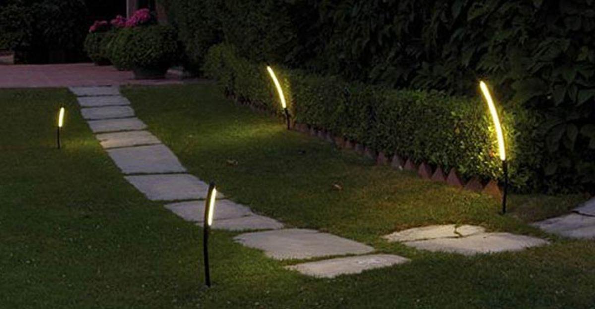 Consejos para iluminar un jard n - Iluminacion de jardines ...