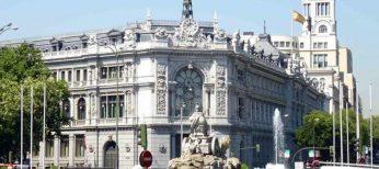 Exterior del Banco de España.