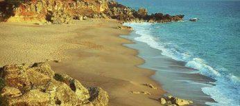 Playa de Cala Pato, en Conil de la Frontera (Cádiz).