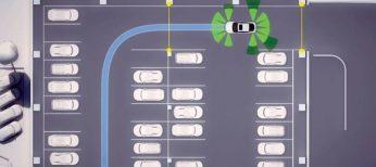 El aparcamiento pilotado de Audi se realiza con una app desde un smartphone.
