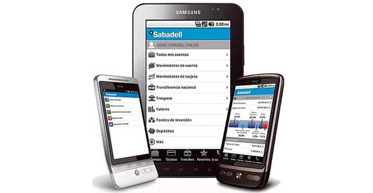 Usamos la banca móvil para controlar los saldos de cuentas y mover dinero de una a otra