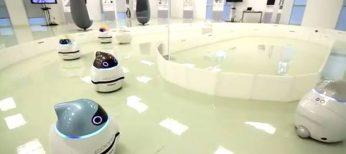 Nissan desarrolla el robot Eporo, que imita el movimiento de las abejas.