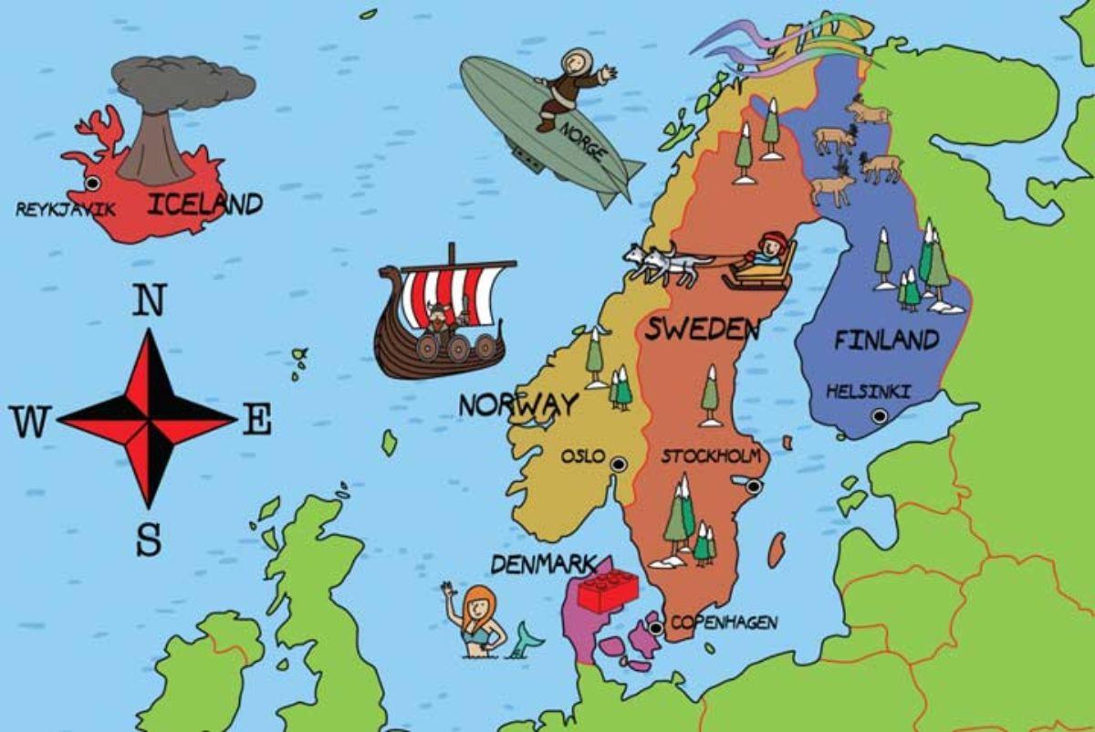 Viaje a los países nórdicos.