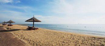 Playa de la costa española.