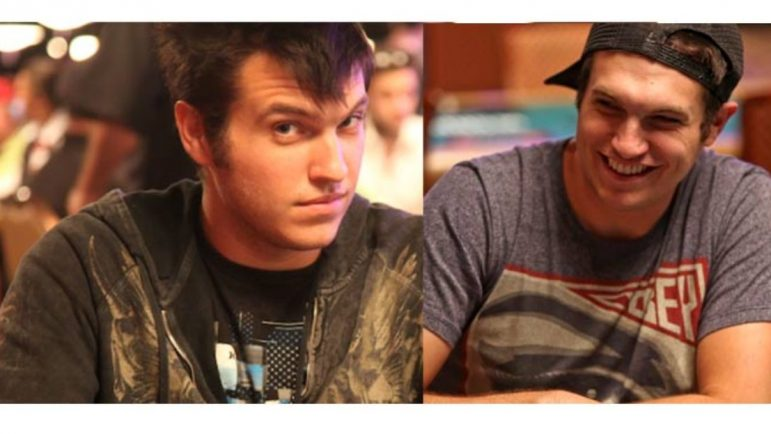 Jugadores de poker.