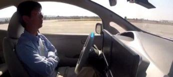 El Nissan Leaf que será autónomo.