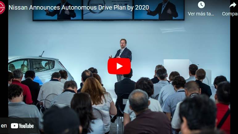 Video explicativo del plan de Nissan