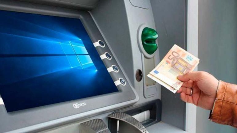 También hay virus informáticos en los cajeros del banco