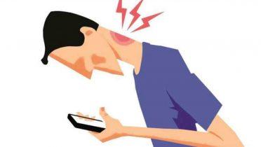 Muchas horas con tablets o smartphones provoca dolores de cuello, ojos y cabeza
