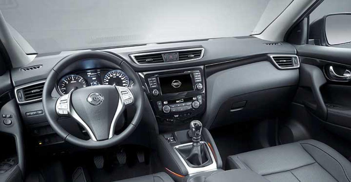 Interior del nuevo Nissan Qashqai.