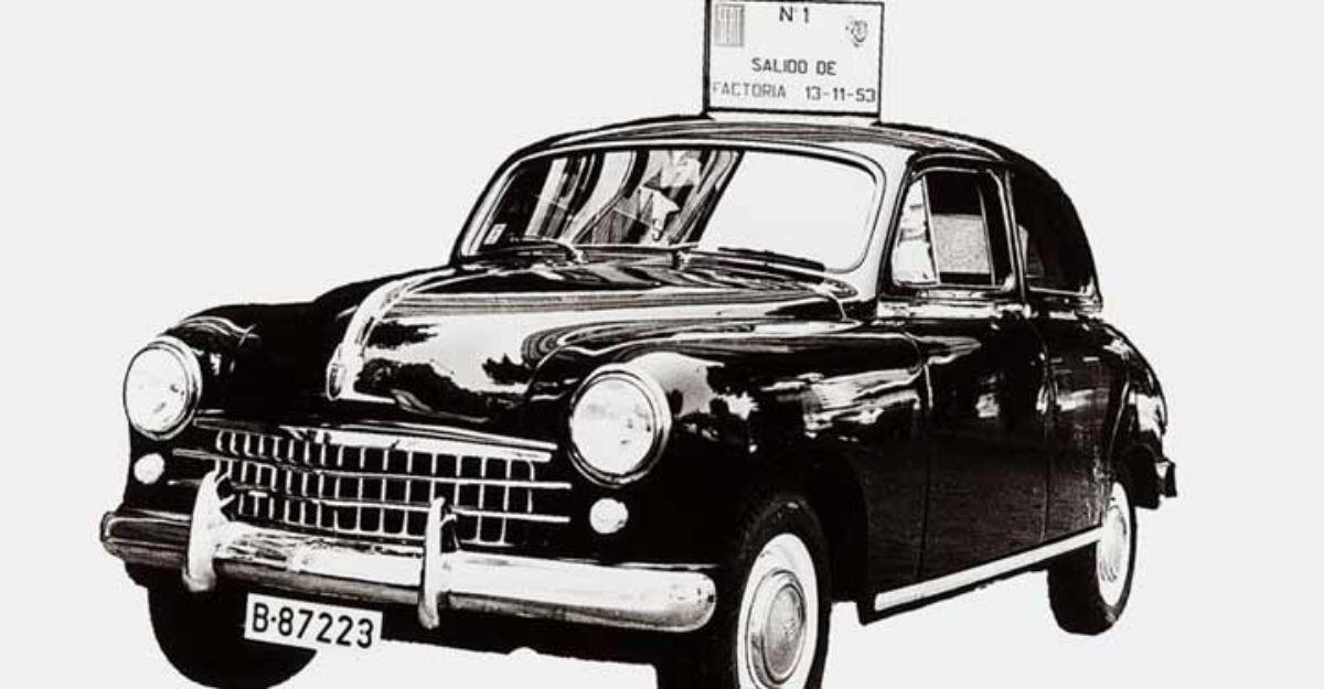 El modelo SEAT 1400.