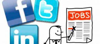 Vigila tu actividad en las redes sociales si estás buscando trabajo
