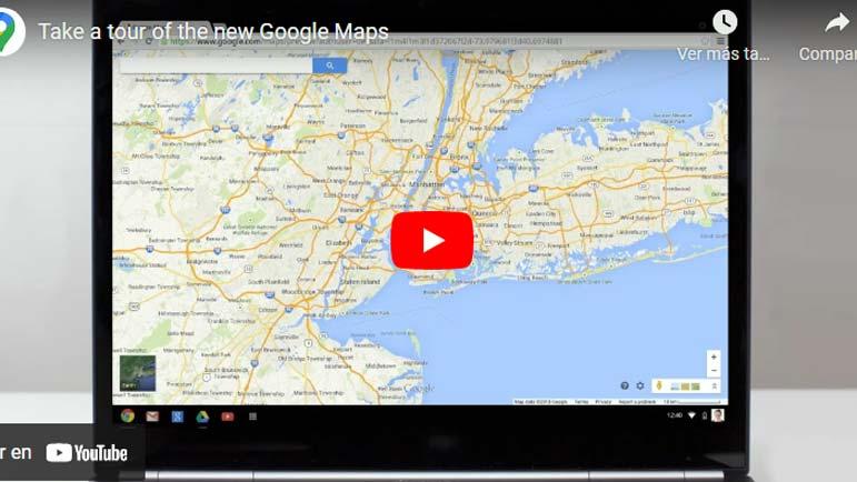 Video explicativo Google Maps