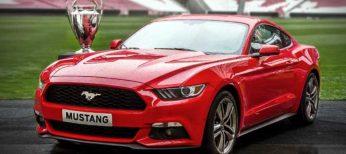 El nuevo Ford Mustang que empezará a verse en Europa a partir de 2015.