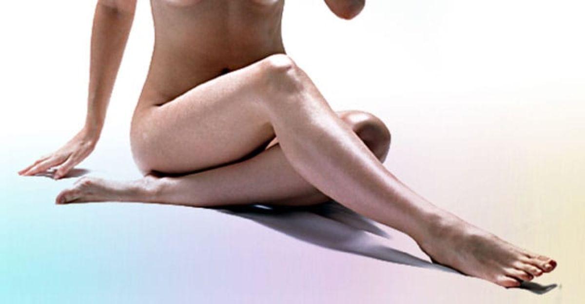 Fotodepilación en piernas.