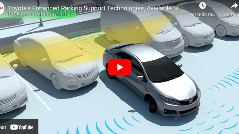Video explicativo de cómo aparca el nuevo Toyota
