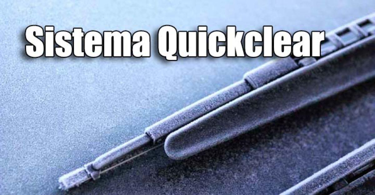 El mejor truco para quitar el hielo del coche, con el sistema Quickclear