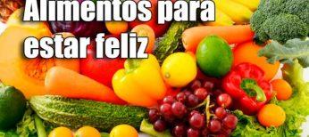 10 alimentos para mejorar el humor y estar feliz