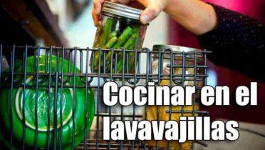 Es seguro cocinar en el lavavajillas?