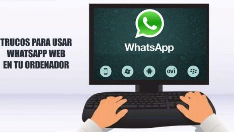 Cómo usar WhatsApp web desde tu ordendor.