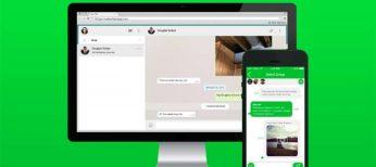 Cómo envío fotos, videos o mensajes de voz desde WhatsApp web.