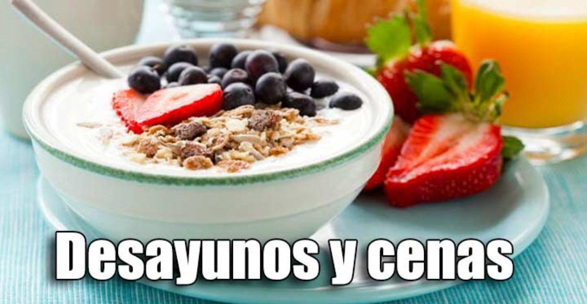 Dieta desayuno para bajar de peso