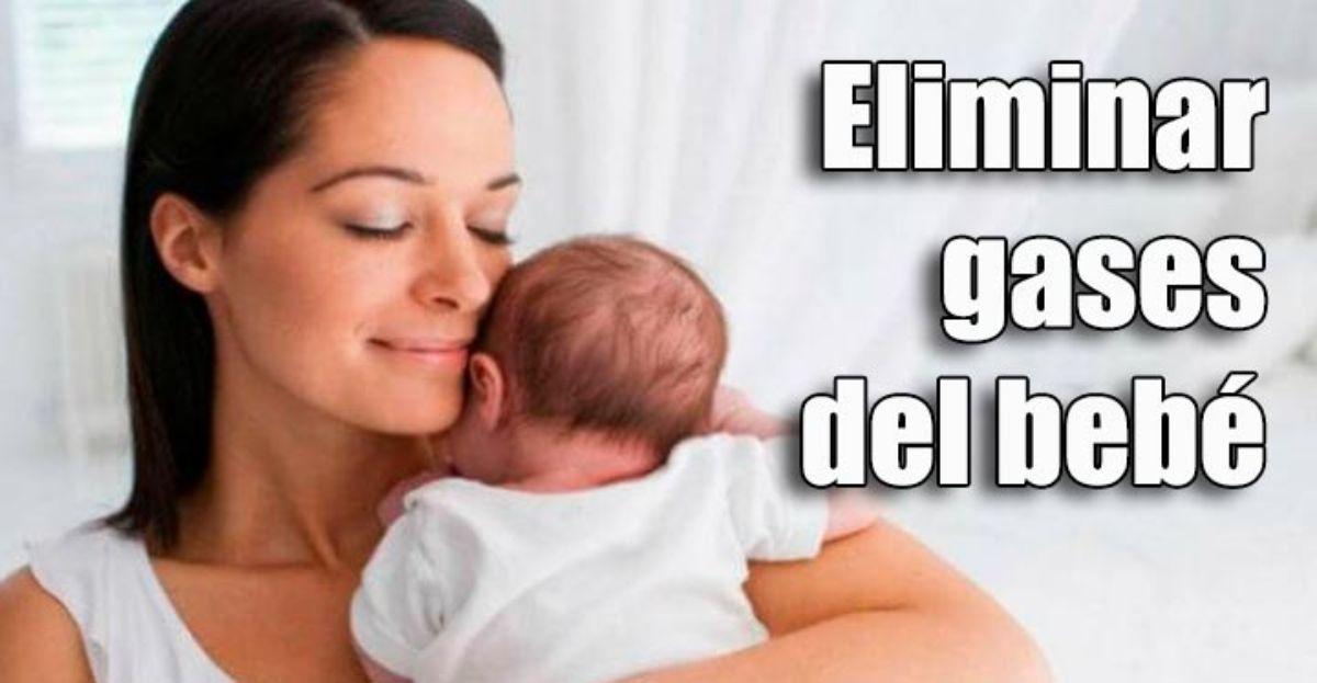 Consejos para que un bebé pueda eliminar gases